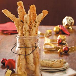 Italian Garlic Parmesan Breadsticks Recipe