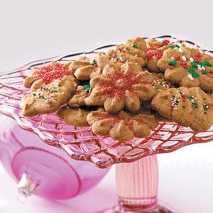 Gingerbread Spritz Recipe