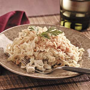 Makeover Chicken Noodle Delight Recipe
