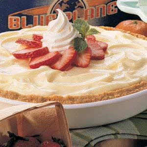 Cheesecake Strawberry Pie Recipe
