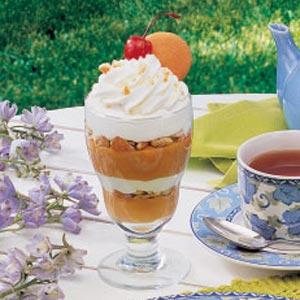 Butterscotch Pudding Parfaits Recipe
