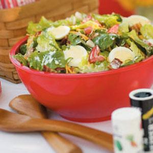 Scrumptious Scrambled Salad Recipe