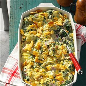 Creamy Parmesan Spinach Bake Recipe