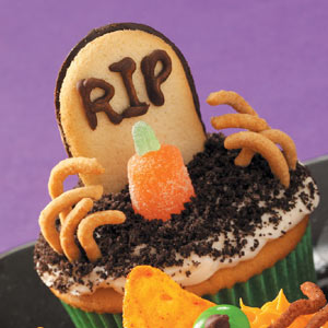 Tombstone Cupcakes Recipe