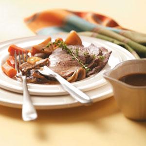 Coffee-Flavored Beef Roast Recipe