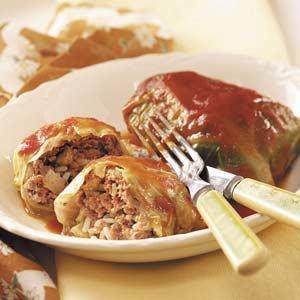 Sweet 'n' Tender Cabbage Rolls Recipe