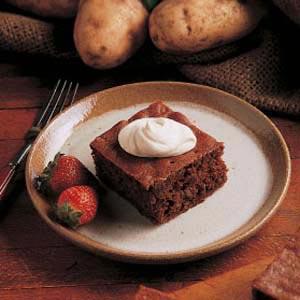 Idaho Potato Cake Recipe