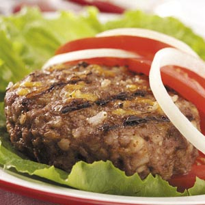 Gluten-Free Grilled Burgers