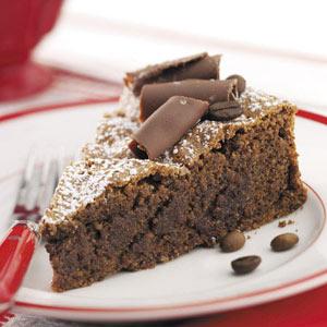 Almond Espresso Chocolate Cake Recipe