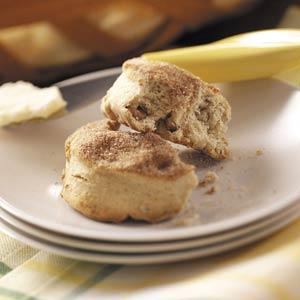 Maple Cinnamon Biscuits Recipe