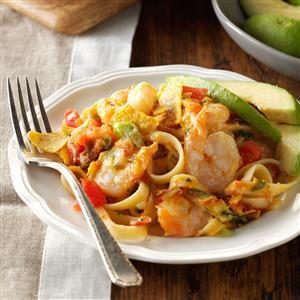 Fettuccine Shrimp Casserole Recipe