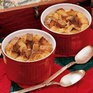 Bread Pudding For Two
