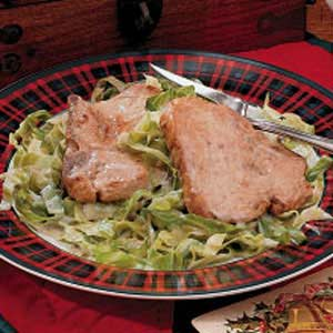 Pork and Cabbage Supper Recipe