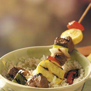 Sizzling Beef Kabobs Recipe