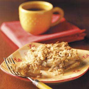 Crescent Apple Dessert Recipe