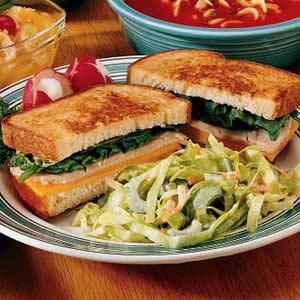 Grilled Turkey Sandwiches Recipe