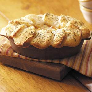 Biscuit-Topped Beef Casserole Recipe