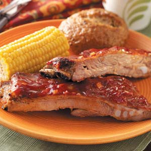 Oven-Barbecued Spareribs Recipe