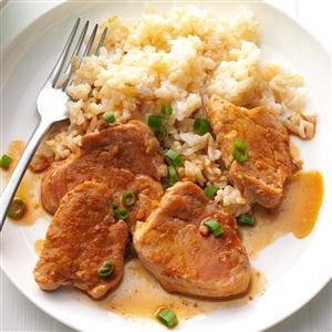 Asian Pork Medallions Recipe
