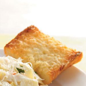 Buttery Parmesan Garlic Bread Recipe