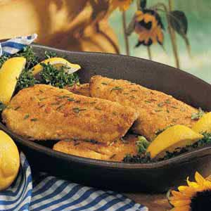 Pan-Fried Breaded Trout Recipe