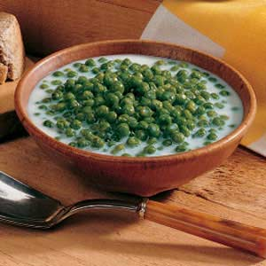 Creamed Sweet Peas Recipe