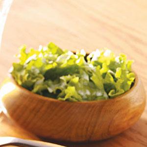 Salad Greens & Creamy Sweet Dressing Recipe