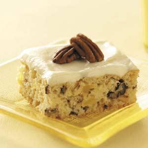 Makeover Pineapple Nut Cake Recipe