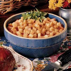 Tomato Crouton Casserole Recipe