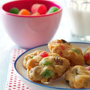 Holiday Gumdrop Cookies Recipe