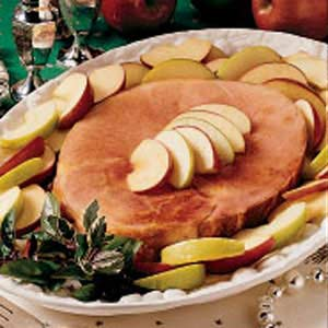 Baked Ham and Apples Recipe