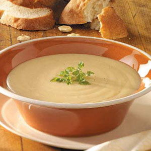 Roasted Garlic Potato Soup Recipe