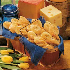 Italian Cheese Twists Recipe