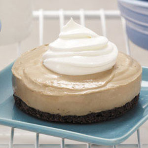 Frozen Mocha Cheesecakes Recipe
