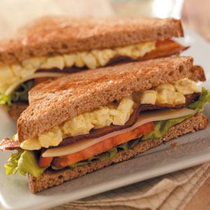 Sunny BLT Sandwiches Recipe