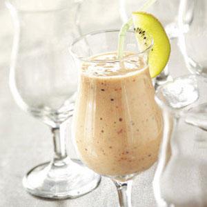 Kiwi Bananaberry Smoothies Recipe