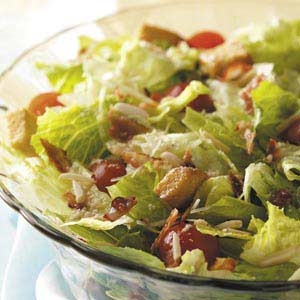 Tossed Salad with Lemon Vinaigrette Recipe