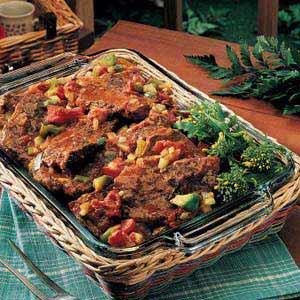 Old-Fashioned Swiss Steak Recipe