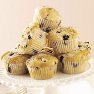 Nutmeg Blueberry Muffins