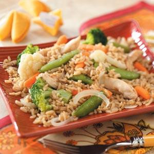 Asian Chicken Dinner Recipe
