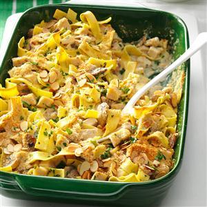 Herbed Turkey Tetrazzini Recipe