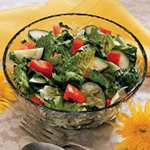 Mixed Greens Salad Recipe