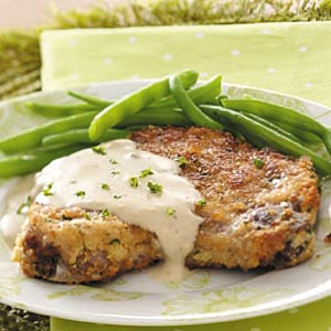 Makeover Pork Chops with Gravy Recipe
