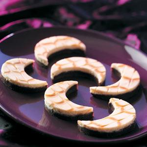 Fudgy Cheesecake Moons Recipe
