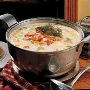 Hearty Corn Chowder Recipe