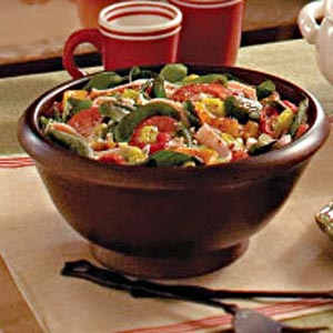 Spinach Festival Salad Recipe