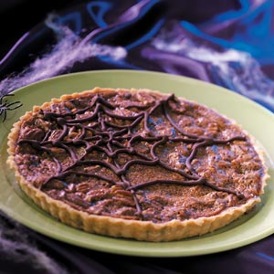 Dark Side Chocolate Caramel Tart Recipe