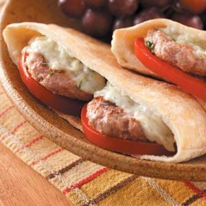 Mini Greek Burgers Recipe