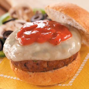 Supreme Pizza Burgers Recipe