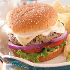 Southwest Burgers Recipe